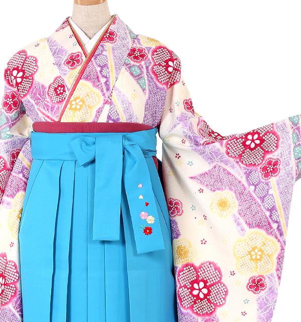 卒業式袴レンタル小さいサイズ卒業袴No.055-0256-SM