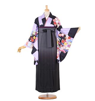 卒業式袴レンタル黒大きいサイズ