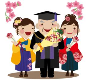 大きいサイズ3万円以下卒業式袴レンタルトップ教授3人613