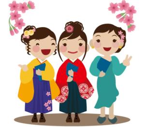 卒業式袴レンタル相場トップ3人615