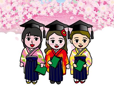 鹿児島卒業袴レンタル相場安い4