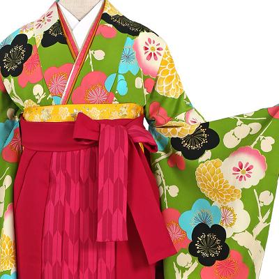 紅一点卒業袴レンタル0717L和歌山,卒業式袴レンタル,安い,相場,着物レンタル,振袖,着付け